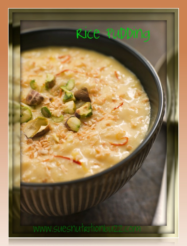Kheer : Healthy Creamy Rice Pudding with Coconut Milk, Dates & Nuts #SundaySupper
