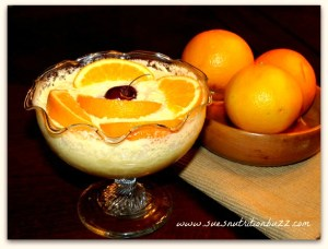 Orange Mousse with Greek Yogurt