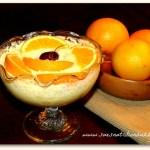Orange Mousse with Greek Yogurt