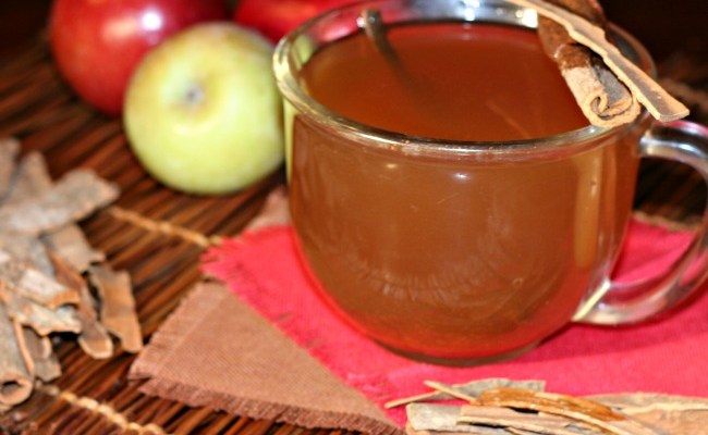 Hot Apple Cider Vinegar Toddy That Boosts Metabolism & Keeps Pounds Away