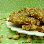 Peanut Sesame Brittle