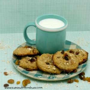 Quinoa Oatmeal Raisin Cookie