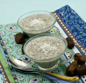 Coconut Date Chia Pudding