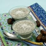 Coconut Date Chia Pudding