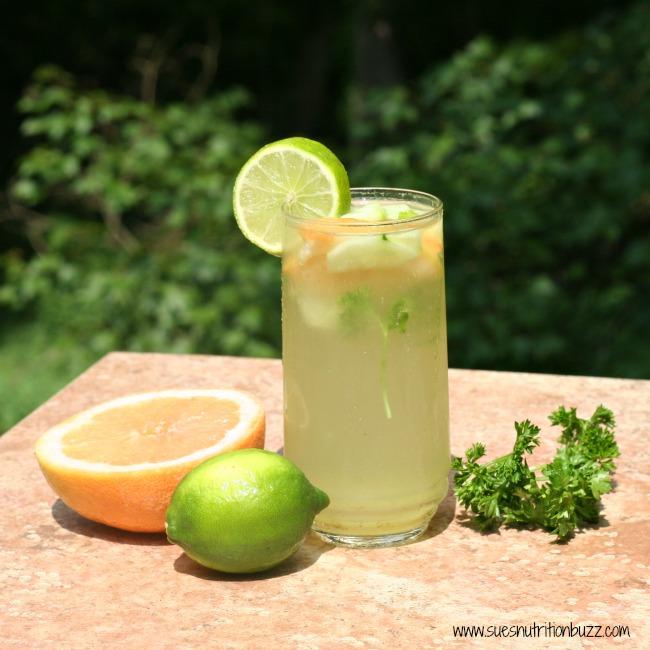 Fat Flush Grapefruit Cucumber Parsley Vitamin Water