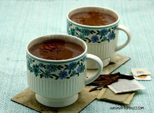 Erase Stress with Chocolate Almond Black Tea