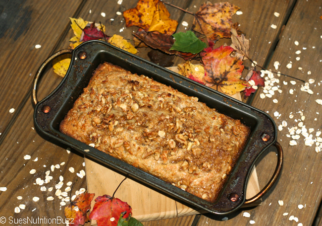 Coconut Banana Bread  With More Fruit & Nuts Than Flour