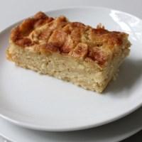 Schwedischer Apfelkuchen nach Omas Rezept - saftiger geht's nicht