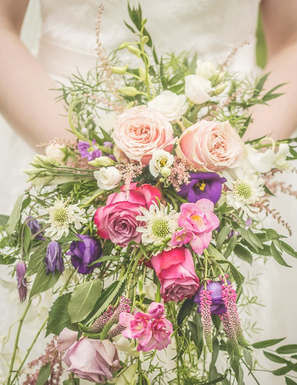 wedding boquet alnwick