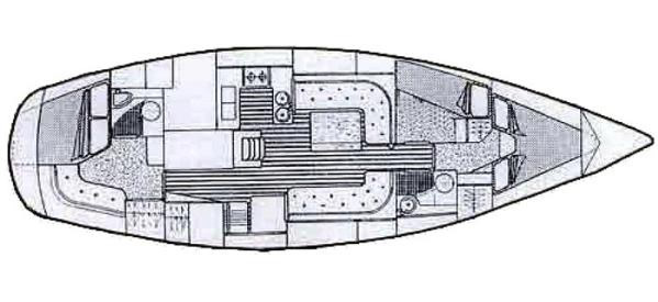 moody 419 yacht charter