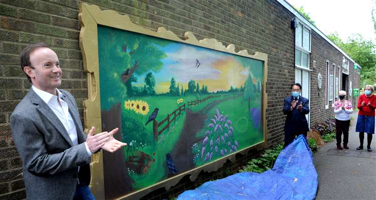 The idea for the community centre rejuvenation project came about after a conversation between centre members and Cllr Richard Rout two years ago. Picture: Andy Abbott.
