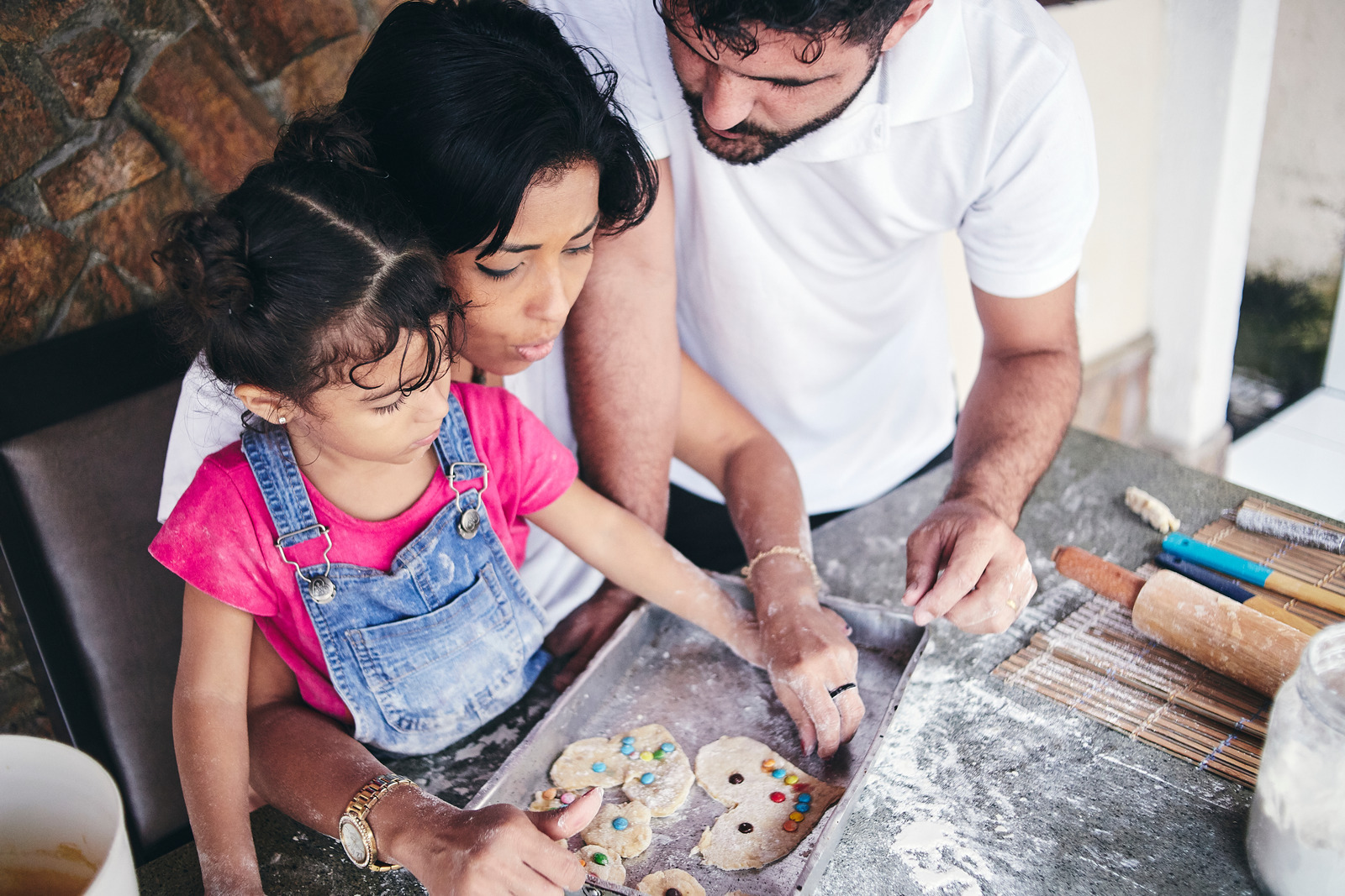 Canva - Family Baking Cookies at Home