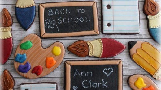Back-to-School Cookie Decorating