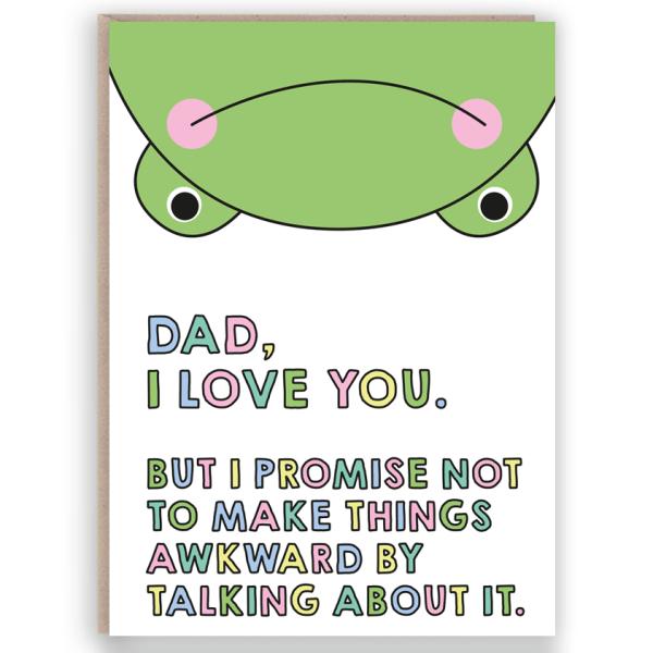 dad frog card
