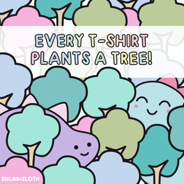 Tree shirt club by Sugar and Sloth