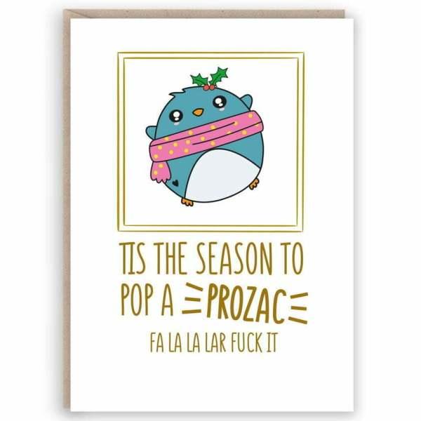 funny christmas card