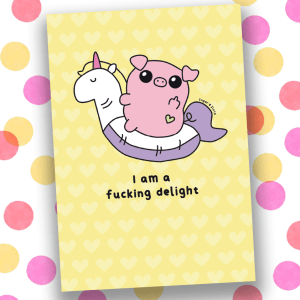 I am a Delight notebook