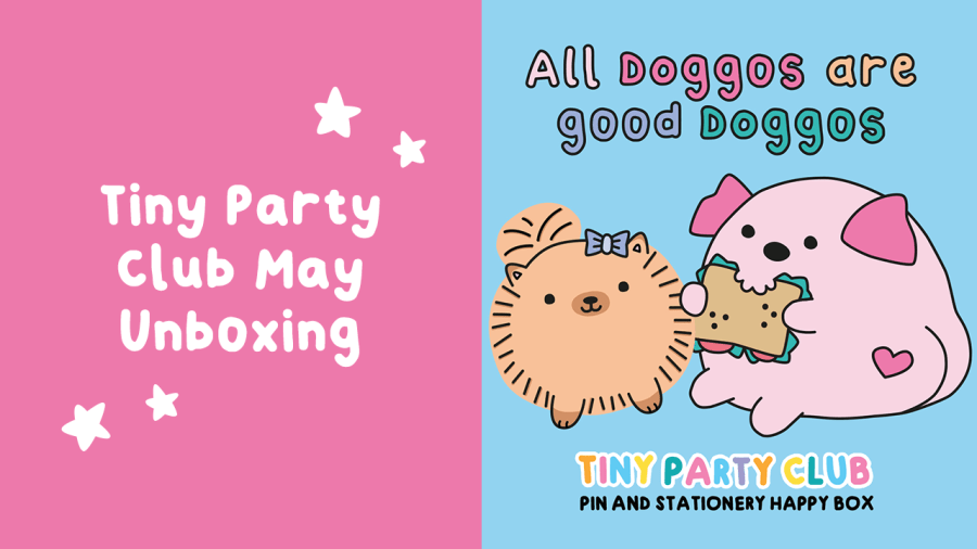 All Good Doggos Tiny Party Club unboxing