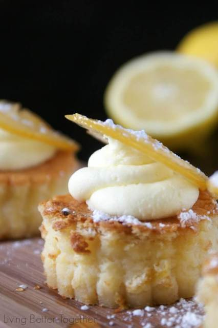 Inspired by Sansa's favorite dessert in Game of Thrones, these Lemon Cakes are a true labor of love but have an amazing flavor a texture!