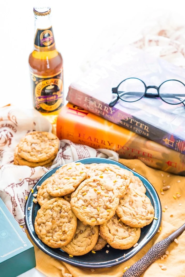 Butterbeer Cookies Recipe for Harry Potter Party
