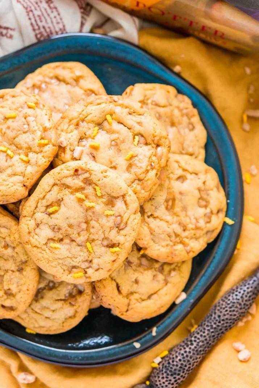 Harry Potter Butterbeer Cookies