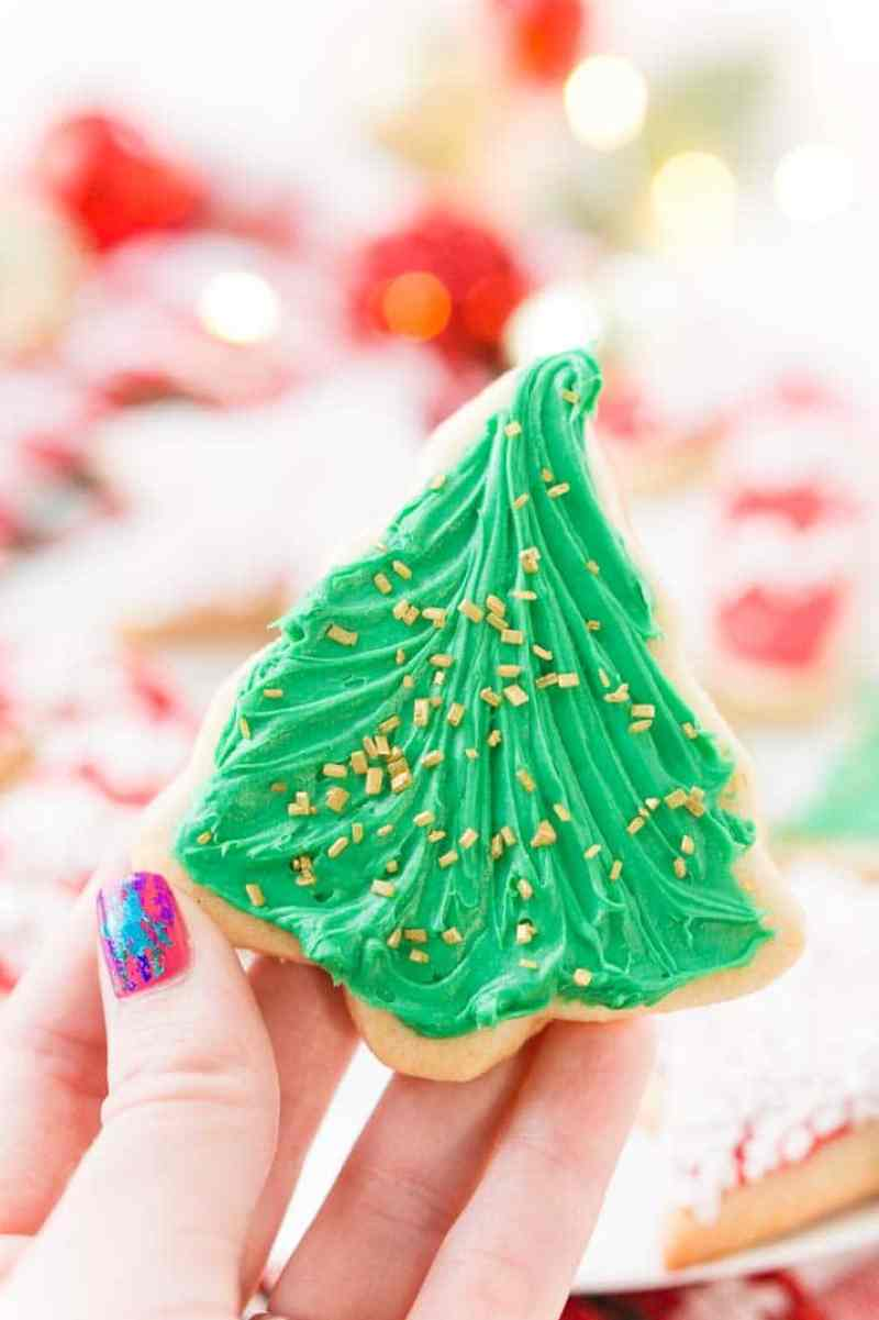 There's just something about those classicChristmas Sugar Cookie Recipefrom scratch just like grandma used to make. This simple recipe made with butter, sugar,flour, and vanilla is perfect for decorating for the holidays!