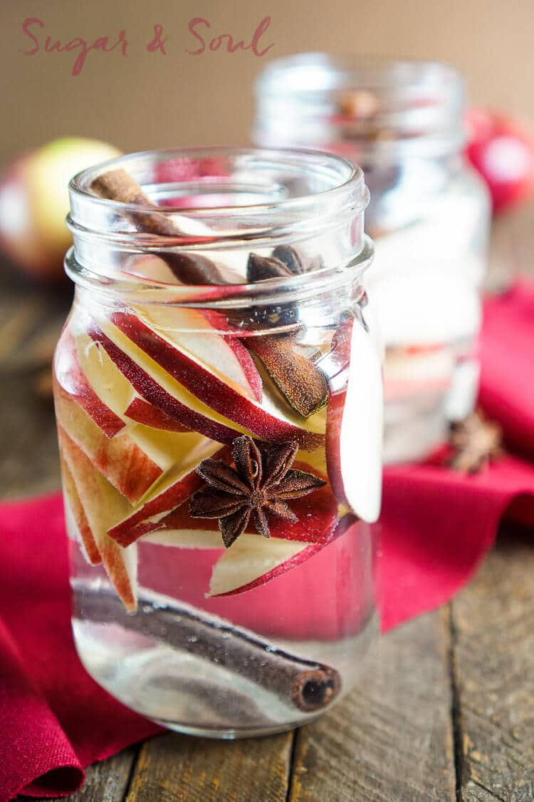 Apple Spice Detox Water- delicious and easy drink recipe!