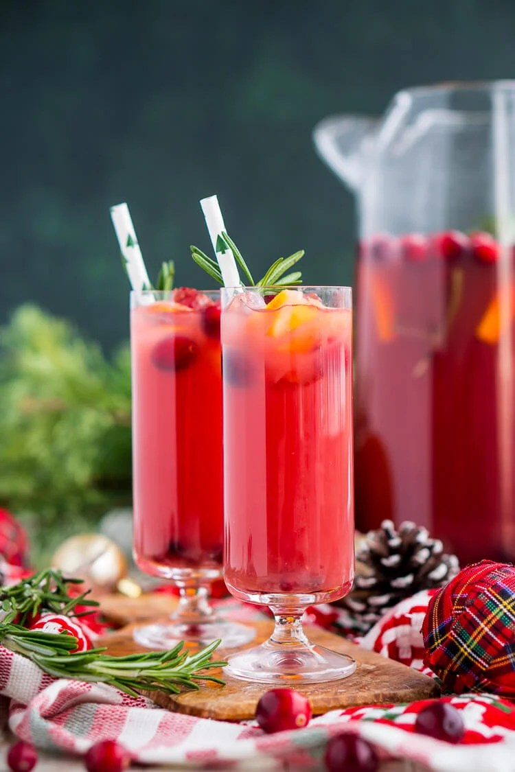 Christmas Punch is an easy and delicious holiday party drink!