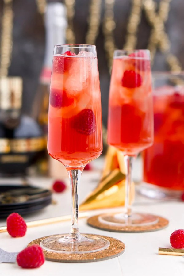 New Year's Eve Champagne Punch - Sugar & Soul