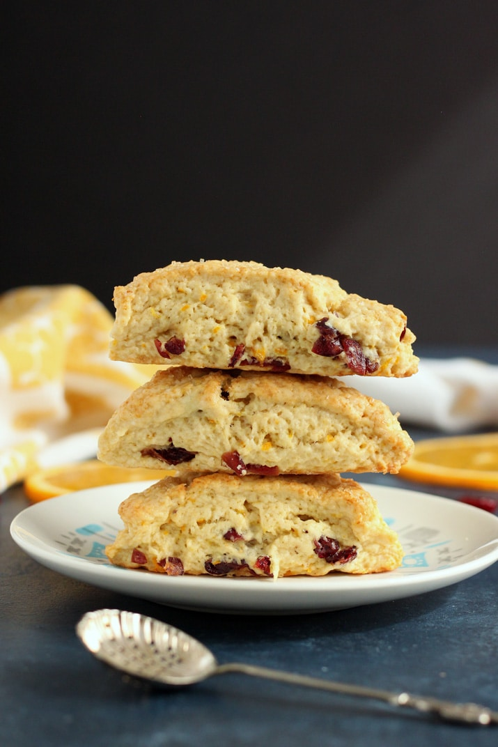 Cranberry Orange Scones - A great holiday breakfast!