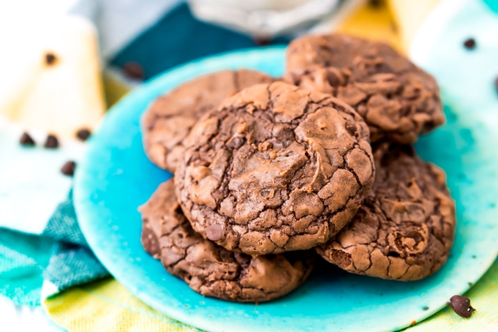 How to make cookies from a brownie mix