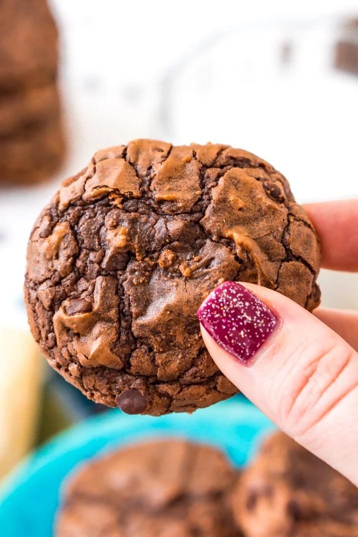 Easy Brownie Cookies Dessert Recipe