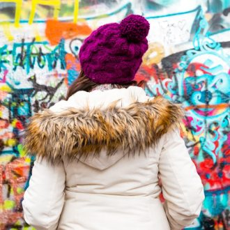 If you're planning a trip to Prague, make sure the Lennon Wall is at the top of your list of things to do! It's FREE and one of the coolest things you'll ever see in your travels!