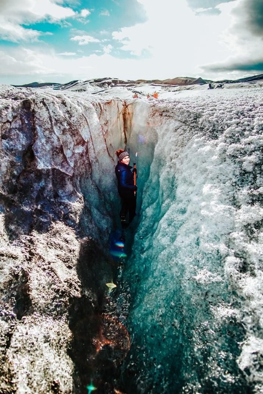 Blue Ice Glacier Tour - Skaftafell Iceland