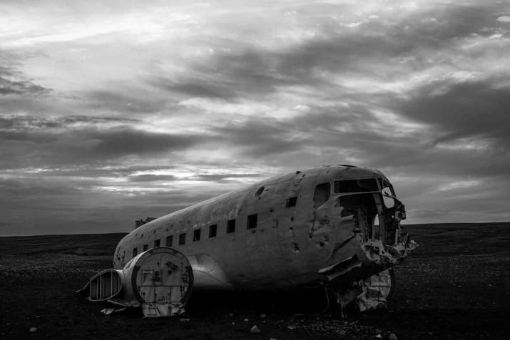 Sólheimasandur Plane Wreck in Iceland
