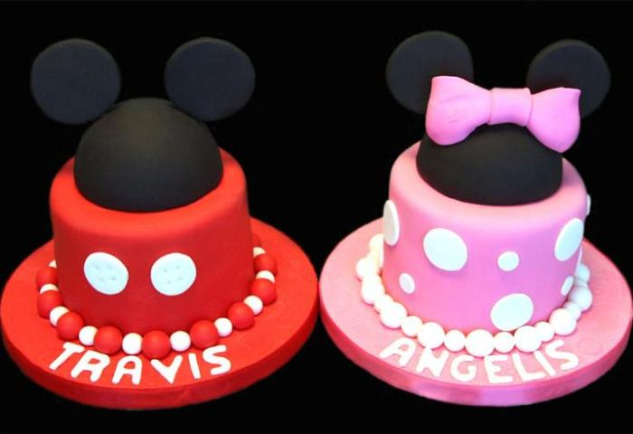 Sugarbabies Mickey Minnie Mouse Birthday Cake Gallery Mickey Mouse
