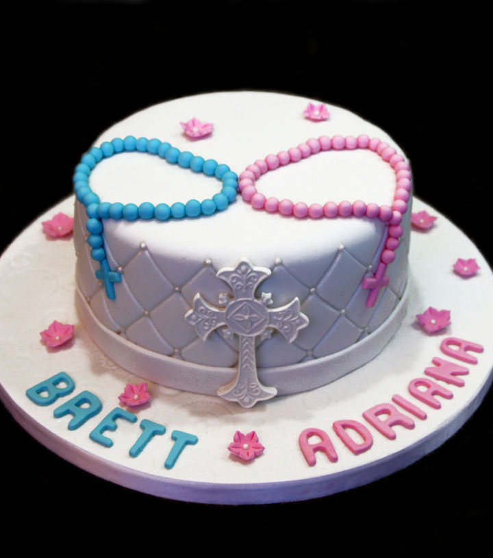 Unique Baptism Cakes