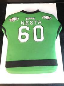 A cake Eagles shirt Nesta 1