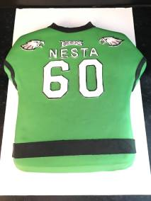 A cake Eagles shirt Nesta 1