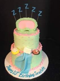 A new sleepover cake