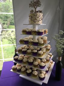 a-purple-and-gold-cupcake-tower-1
