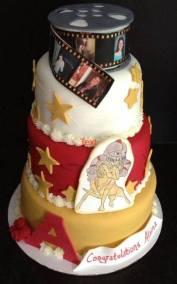 Alaina's Grad Cake
