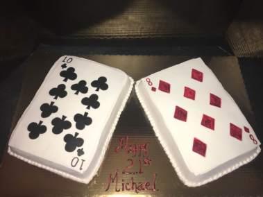 A sugarpaste card 42