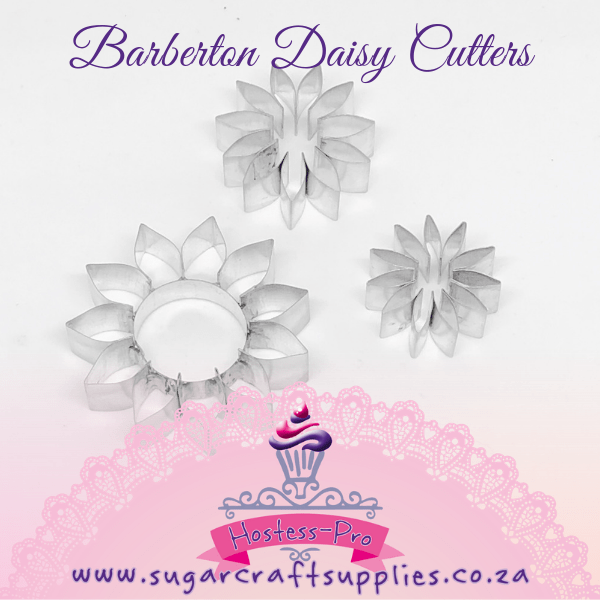 Barberton Daisy Metal Cutters