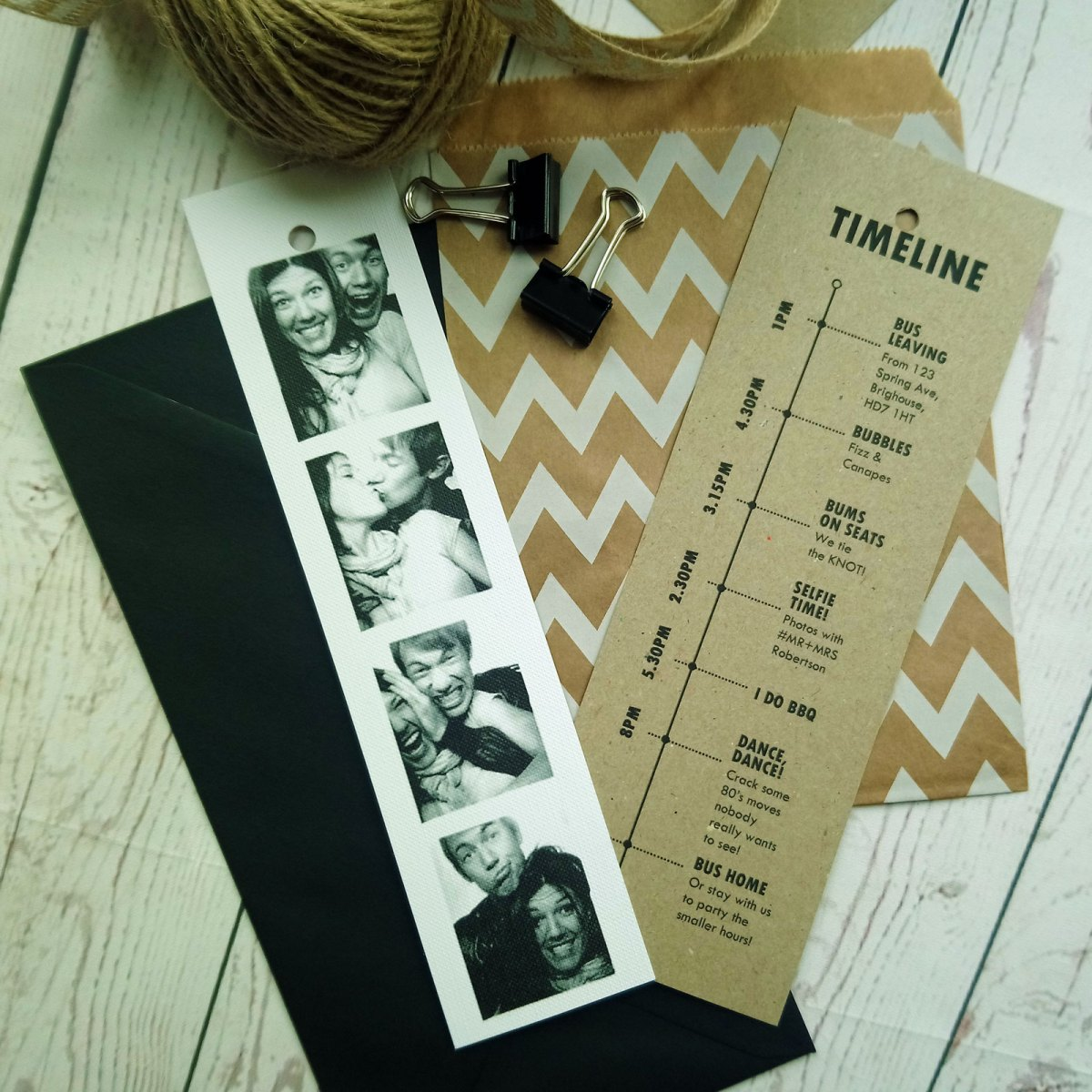 Craft Photo Booklet Timeline 6th layer optional craft card