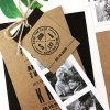 craft tag for wedding invitation booklet