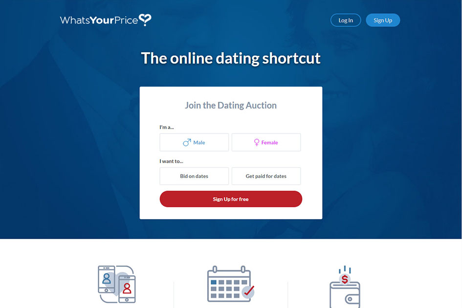 Dating site bid on dates
