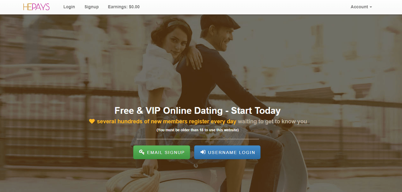 Dating site like person.com