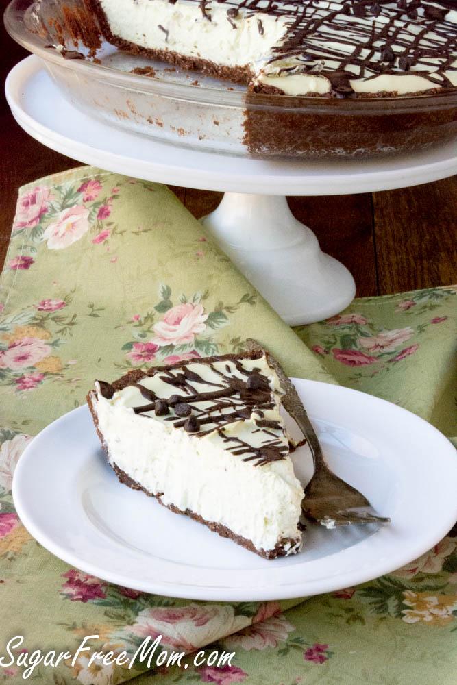 sugar free grasshopper pie