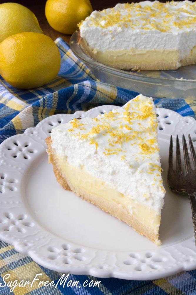 sugar free lemon cream pie